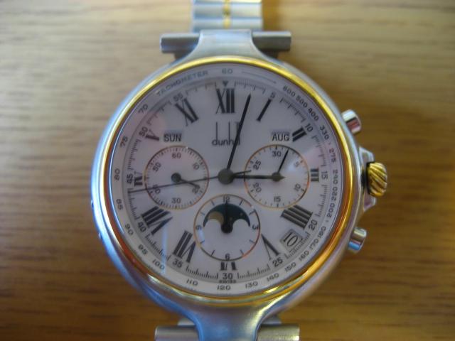 【石川県 K・Y 様】ダンヒル・クロノグラフ 腕時計