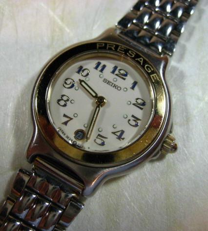 【福岡県 K・H 様】 セイコープレサージュ腕時計