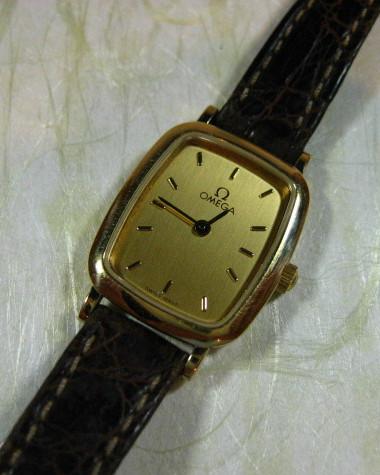 【大阪府 M・K 様】 オメガ・デビル腕時計
