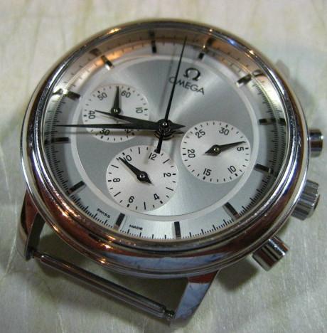 【千葉県 R・I 様】 オメガ・クロノグラフ腕時計