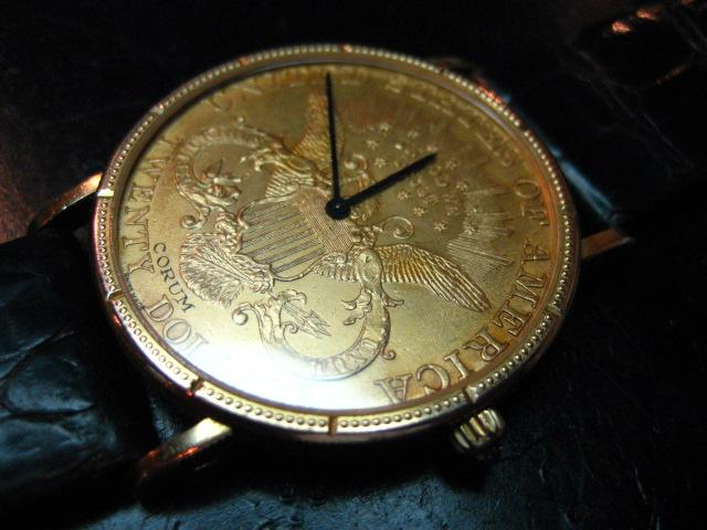 【島根県 K・H 様】 コルム・コイン腕時計