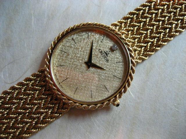 【鹿児島県 N・Y 様】 セイコークレドールK18無垢腕時計