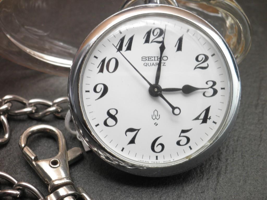 【鹿児島県 O・Y様】SEIKO 鉄道時計